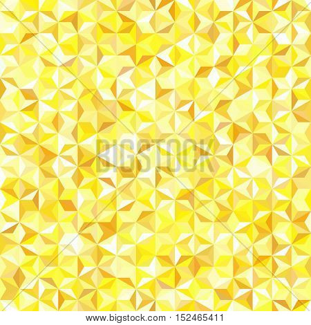 Seamless Yellow Vector Background. Can Be Used In Cover Design, Book Design, Website Background. Vec