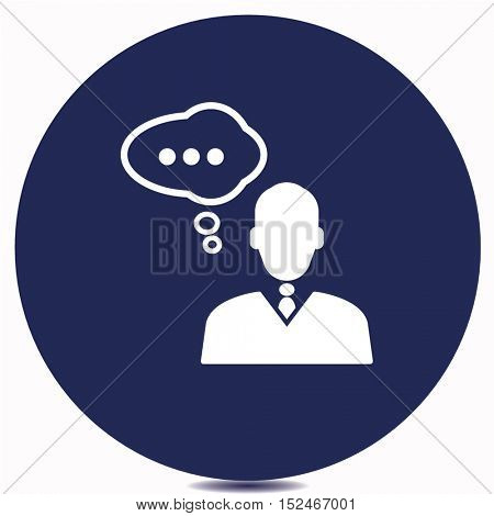 business speech icon