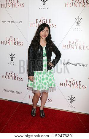 LOS ANGELES - OCT 18:  Kristen Li at the