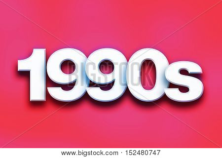 1990S Concept Colorful Word Art