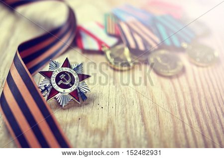 military award for services to participants in the Second World War