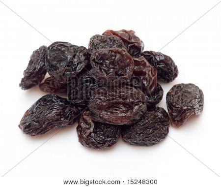 black raisins (sultana), dried fruits