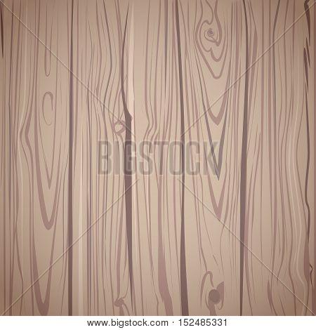 Wood texture top view. Natural dark wooden background. Brown wood floor. Vector illustration eps10