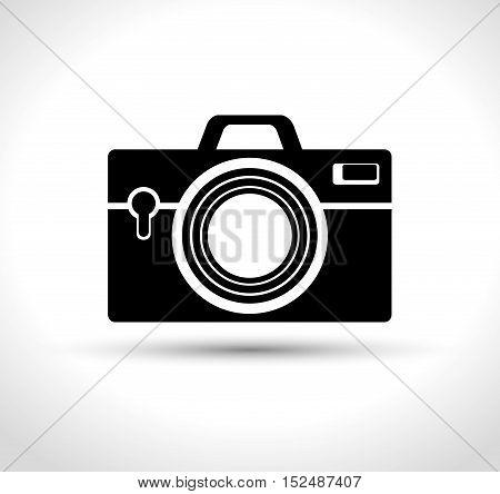 camera photographic retro design, vector illustration graphic
