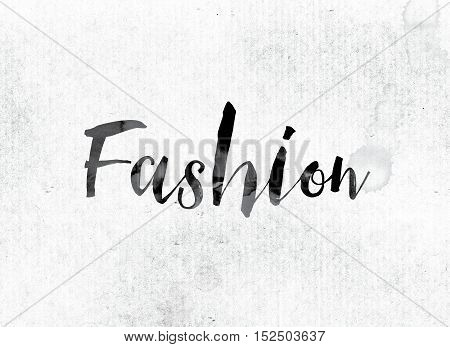 Fashion Concept Painted In Ink
