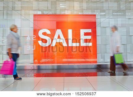 Sale rush