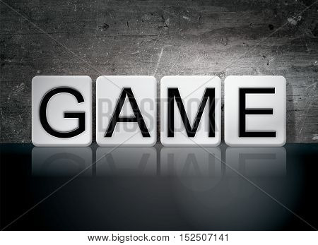 Game Tiled Letters Concept And Theme