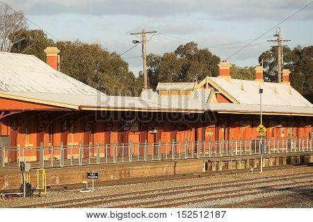 Railway Station Temora