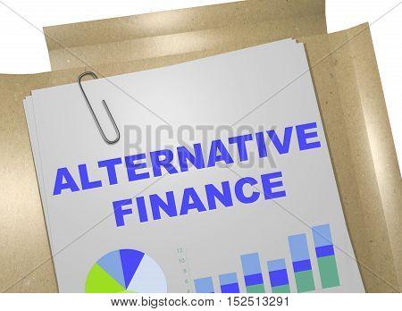 Alternative  Finance Concept