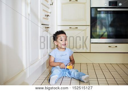 Play on the floor