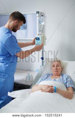 Using medical equipment