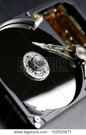 Electronics repair fine on the desktop in the studio