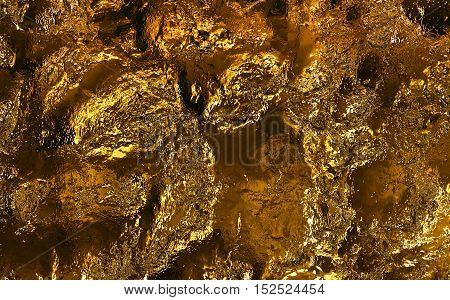 texture gold. abstract gold pattern bronze color closeup.