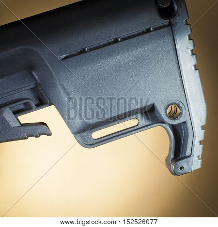Two points to anchor a sling on an adjustable AR-15 stock