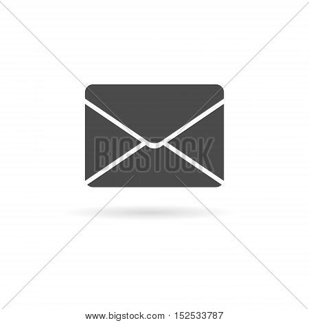 Simple illustration Email icon on white background