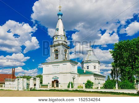 Epiphany Cathedral in the city Malmyzh. Kirov region. Russia
