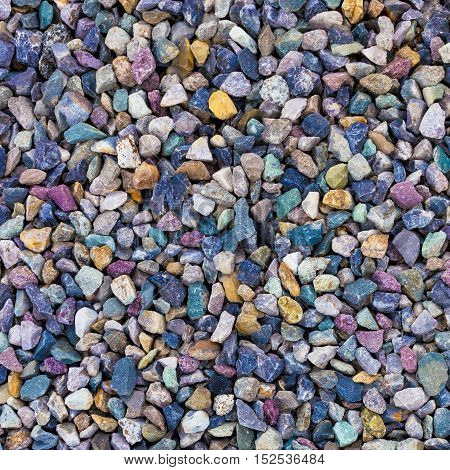 Colorful small stones texture for your backgrounds