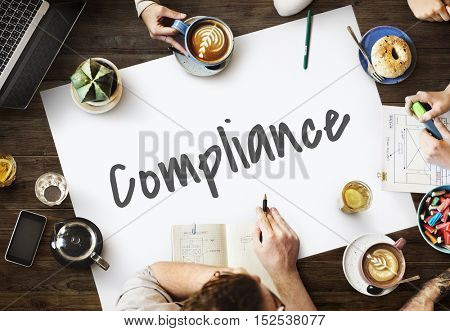 Compliance Core Development Business Concept