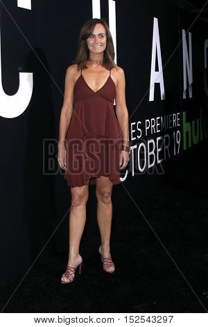 LOS ANGELES - OCT 17:  Diane Farr at the Hulu Chance Premiere at Harmony Gold Theater on October 17, 2016 in Los Angeles, CA