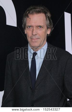 LOS ANGELES - OCT 17:  Hugh Laurie at the Hulu Chance Premiere at Harmony Gold Theater on October 17, 2016 in Los Angeles, CA