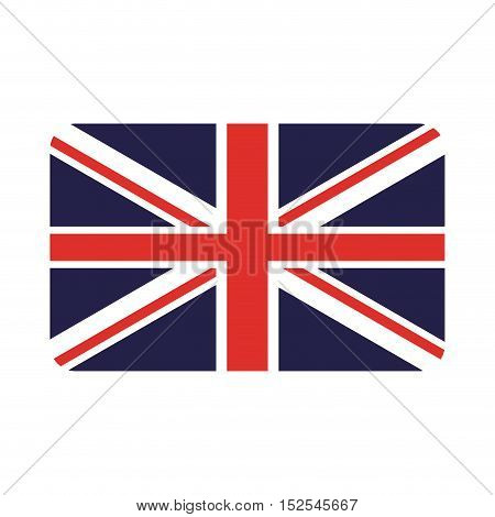 england flag isolated icon vector illustration design
