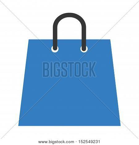 shopping bag market isolated icon vector illustration design