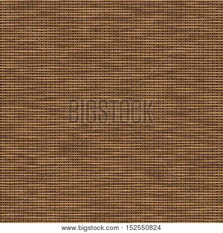 Brown canvas. Imitation of natural fabric. Vector Illustration
