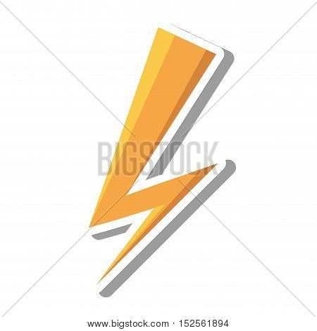 ray storm climate isolated icon vector illustration design