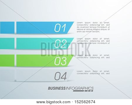Infographic template layout for Business reports and presentation.
