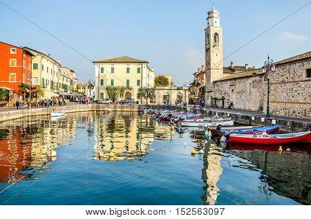 Lazise Lago di Garda Verona Veneto Italy