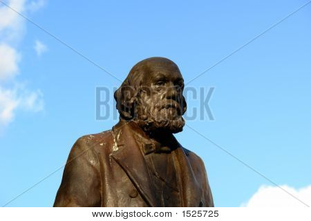 Statue Of Old Man