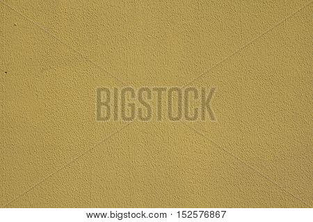 rough textured yellow wall color for background or web design