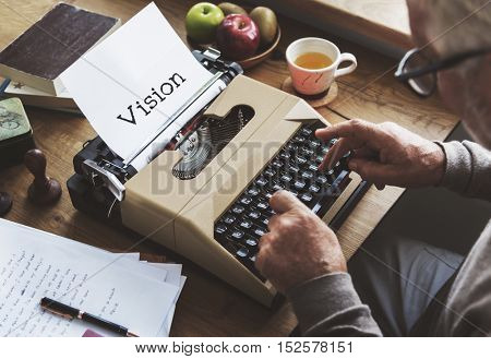 Vision Ideas Aspiration Inspiration Concept