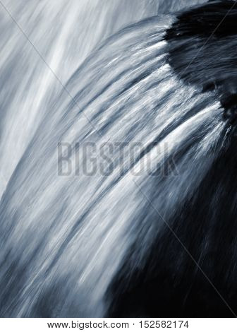 abstract background blurred detail for falling water