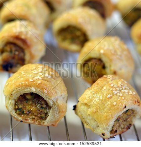 Sausage Roll Appetizers: Finger Food for Party