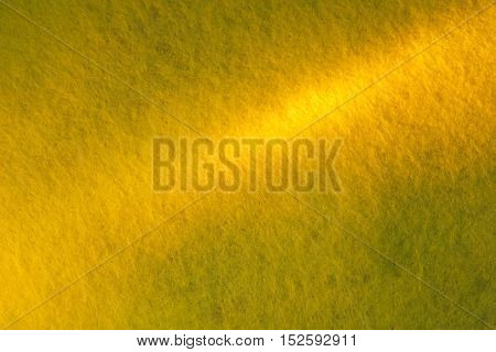 Yellow-Green Abstract Synthetics Fabric Texture for Background.