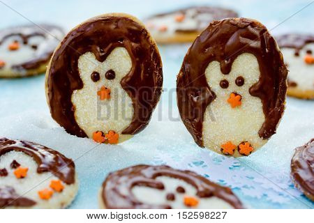 Christmas penguin cookies sweet treats for kids