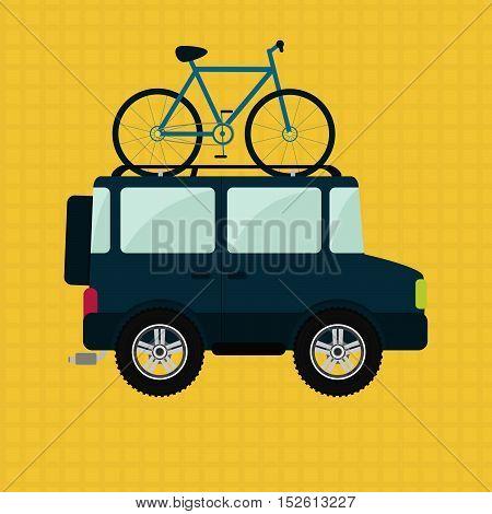 Bike And 4X4 Car