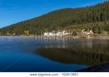 Panoramic  view of Golyam Beglik Reservoir, Pazardzhik Region, Bulgaria
