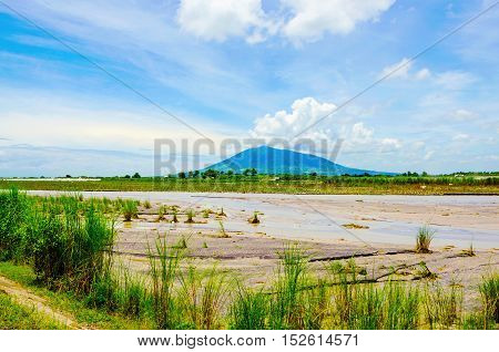 countryside view of Luzon Island in the Philippines