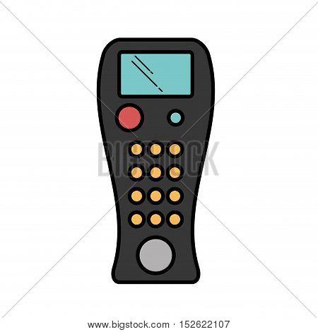 remote control device isolated icon vector illustration design
