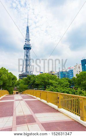 Nagoya Tv Tower Footbridge City Center