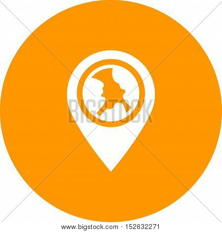 Location, map, globe icon vector image. Can also be used for web. Suitable for mobile apps, web apps and print media.