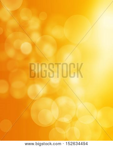 Beautiful defocused orange background .for your webdesign.