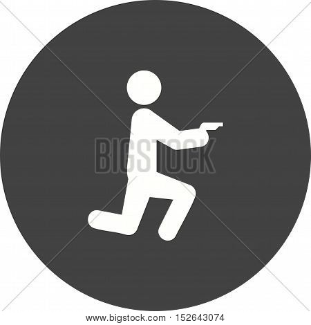Thief, robber, mask icon vector image. Can also be used for people. Suitable for web apps, mobile apps and print media.