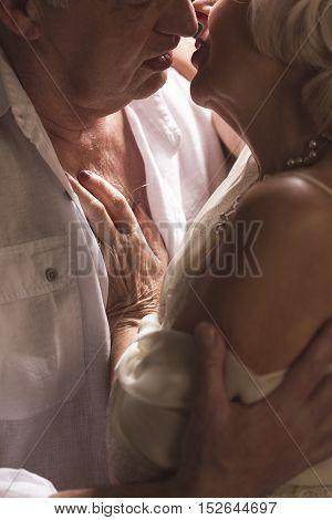 Erotic Senior Couple