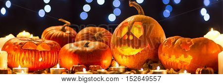Pumpkin Lanterns For Halloween