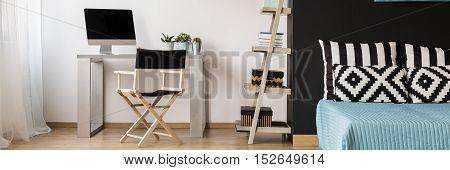 Inspiring Black Bedroom