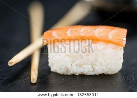 Fresh Made Sushi (selective Focus)