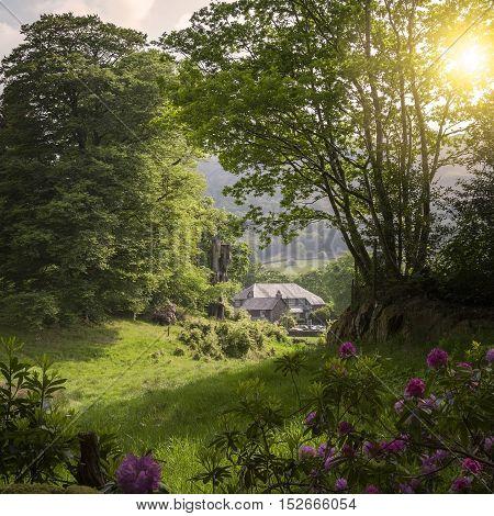 Grasmere village, The Lake District, Cumbria, England